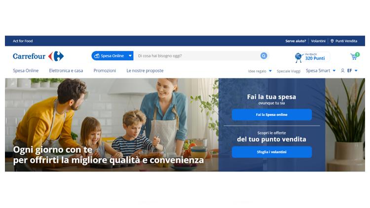 Il sito Carrefour.it diventa mobile first per la prima volta
