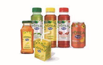 Yoga, packaging eco-friendly per Yotea: nuova bottiglia da 360 ml con 50% di plastica riciclata