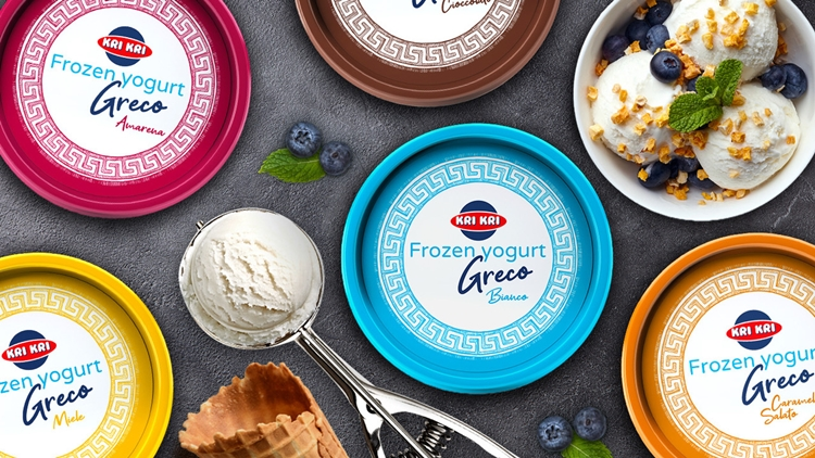 Atlante porta per la prima volta il gelato allo yogurt greco in Italia