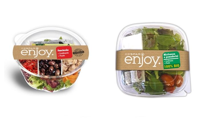 """Despar Enjoy, la linea """"Food to Go"""" dell'insegna presenta le nuove insalate"""