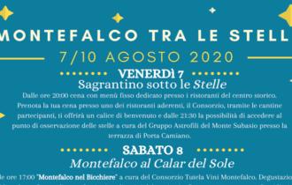 Montefalco tra le stelle: dal 7 al 10 agosto quattro giorni di iniziative in uno dei borghi più belli d'Italia