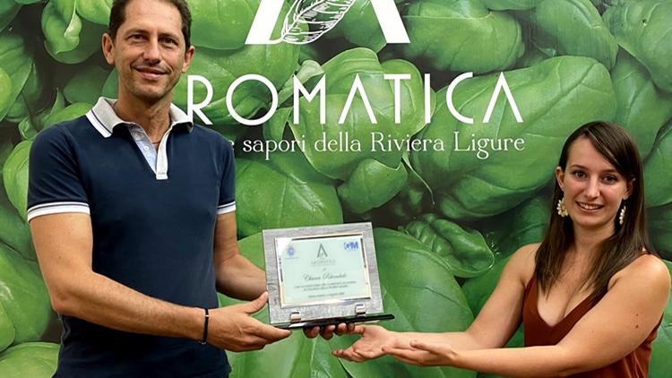 Consegnato a Chiara Ritondale il Premio Aromatica 2020