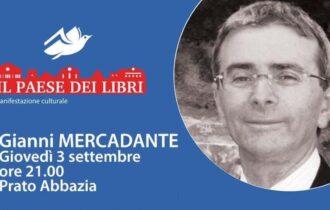"""Montescaglioso """"Paese dei libri"""" lo scrittore Giovanni Mercadante presenta """"Altamura produce"""" – Giovedì 3 settembre 2020"""
