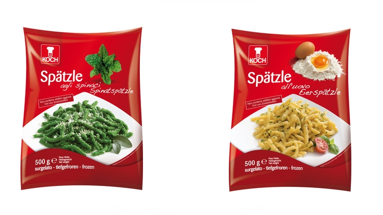 Spätzle di KOCH: la tipica pasta dell'Alto Adige pronta in pochi minuti