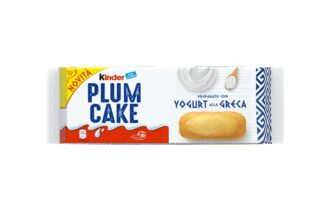 Novità Kinder Plumcake con yogurt alla Greca