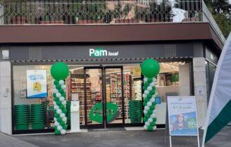 Inaugurazione punto vendita sicuro Pam local Serafini Roma