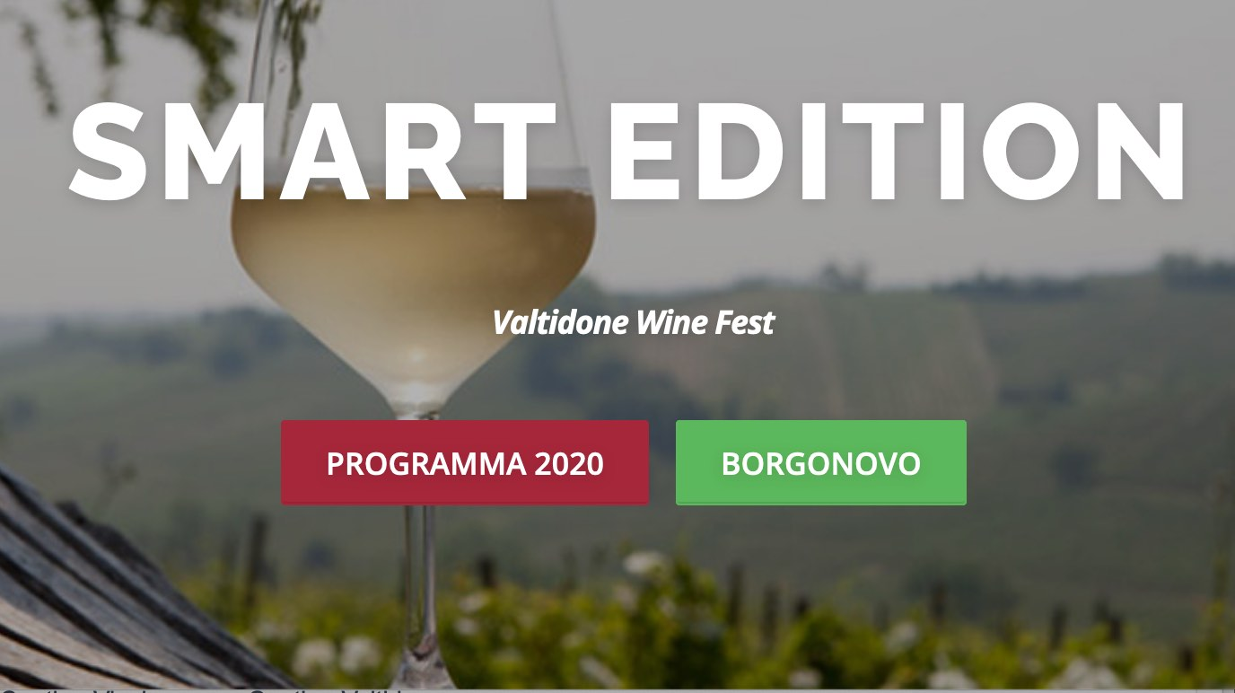 Valtidone Wine Fest Smart Edition, a settembre la rassegna del vino piacentino in 3 fine settimana