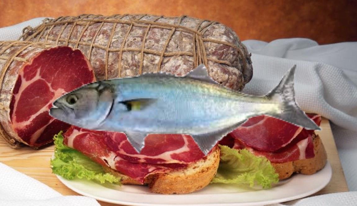 Salumi italiani e pesce: abbinamento insolito per le tavole estive
