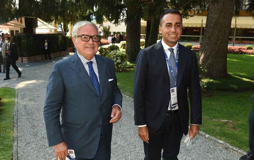 LUIGI DI MAIO – INCONTRO A CERNOBBIO AMBROSETTI CON COLOMBO CLERICI: RILANCIARE I FLUSSI TURISTICI INTERNAZIONALI – SETT. 2020