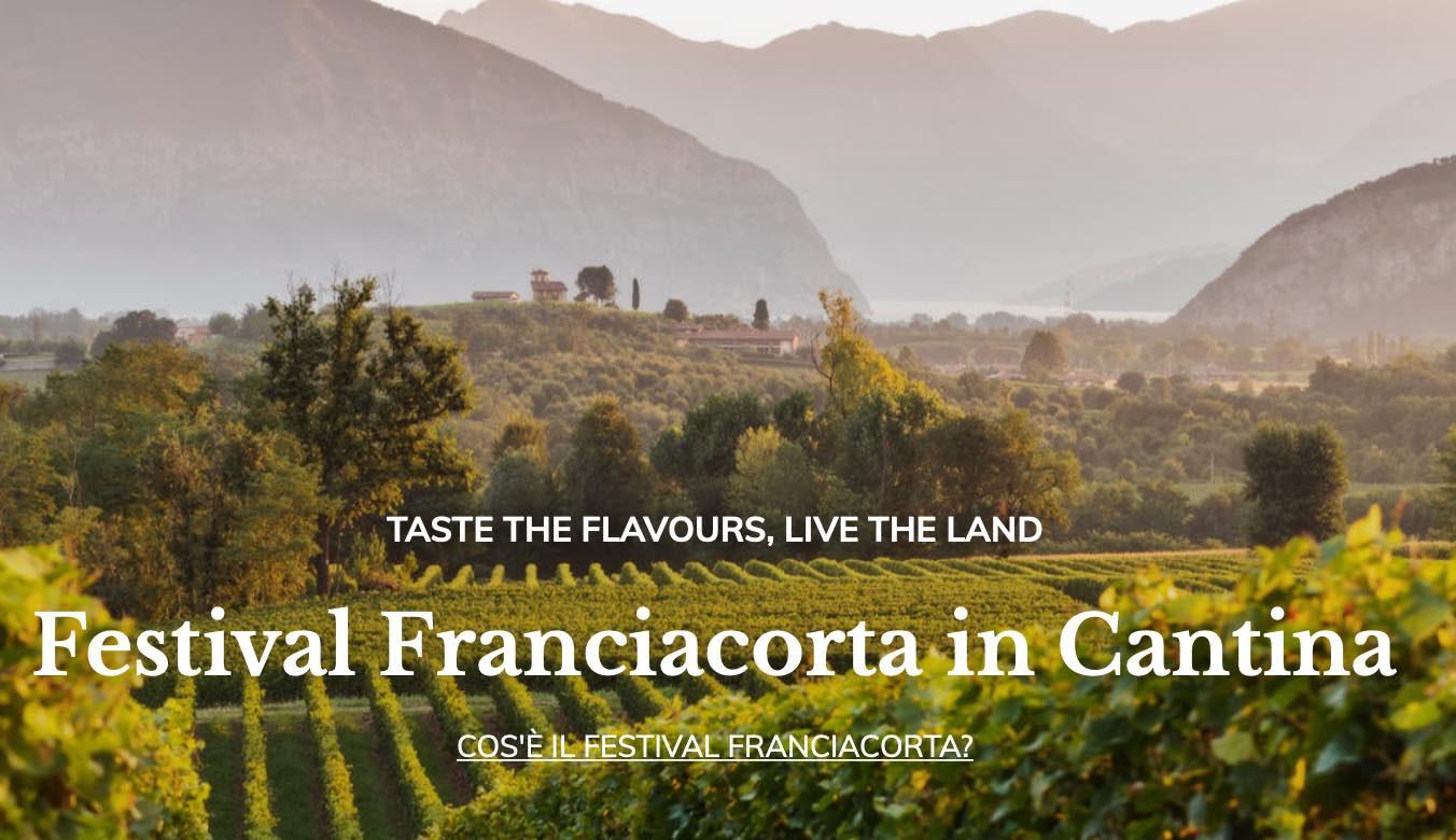 Festival Franciacorta in Cantina: Guido Berlucchi, Castello Bonomi, La Montina, Mosnel, Ronco Calino