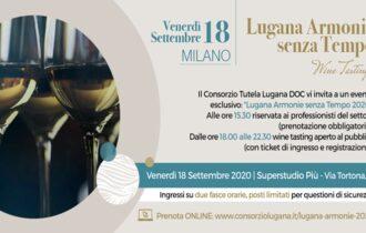 Venerdì 18 settembre al Superstudio Più a Milano un evento speciale per scoprire e assaporare il vino simbolo del Lago di Garda