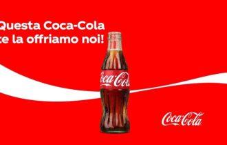 Questa Coca-Cola te la offriamo noi