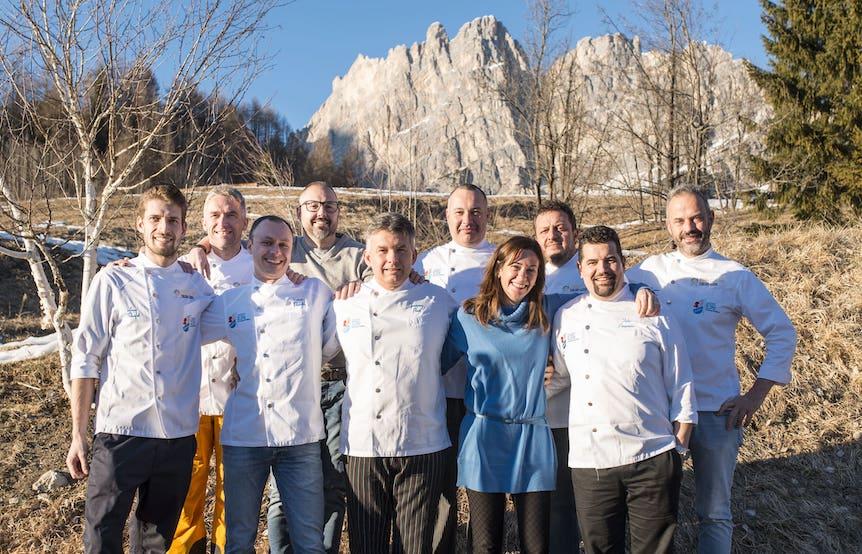 The Queen of Taste, Cortina d'Ampezzo, l'unione (degli Chef) fa la forza… e promuove il territorio e le sue eccellenze