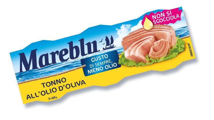 Mareblu: prosegue l'on air della nuova campagna pubblicitaria dedicata al Tonno all'Olio d'Oliva Non si sgocciola