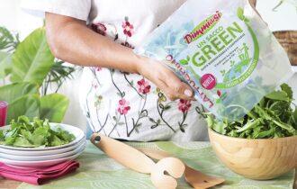 Un Sacco Green, la gamma di insalate fresche in busta DimmidiSì nell'innovativa confezione biodegradabile e compostabile