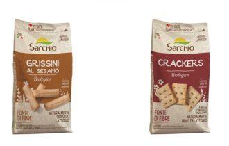 Sarchio presenta la nuova linea di sostituti del pane bio e gluten free