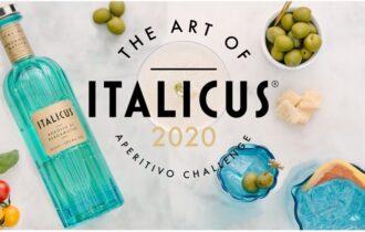 ITALICUS Rosolio di bergamotto: al via l'ART OF ITALICUS® APERITIVO CHALLENGE nella nuova veste della GLO-CAL EDITION