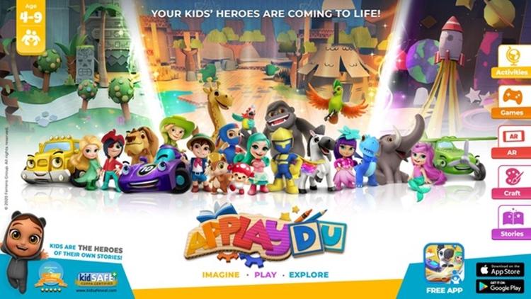 Applaydu, la nuova anima digitale di Kinder Sorpresa