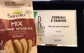 Il Mix per pane integrale Sarchio vince il prestigioso Bio Awards