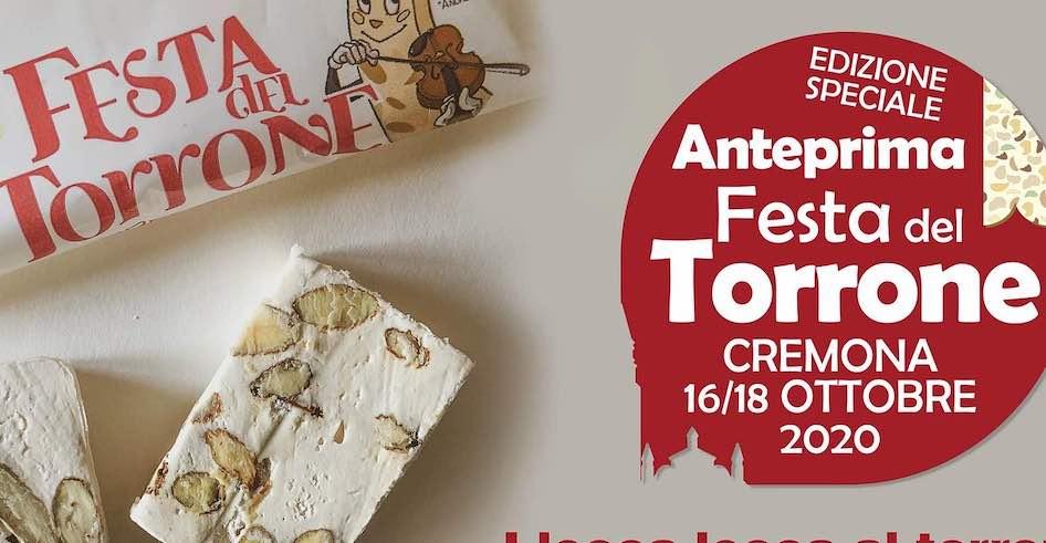 Cremona, Festa del Torrone – Anteprima 16/18 ottobre 2020