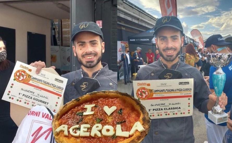 Giuseppe Villani, pizzaiolo a Iseo, Pizzeria Pulcinella, ma con le radici ad Agerola