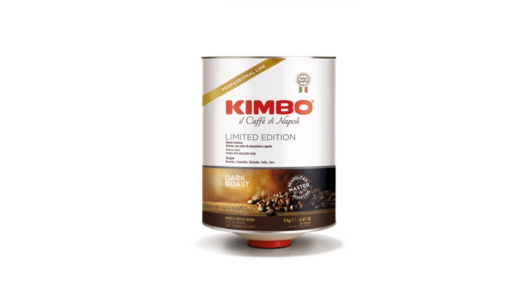Kimbo, il talento napoletano della tostatura al centro del restyling della linea Ho.Re.Ca.