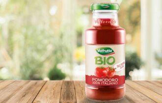 Valfrutta porta nei bar il Succo di Pomodoro Bio 100% italiano