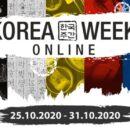 Korea Week 2020 – on line- da domenica 25 a sabato 31 ottobre