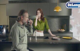 Al via la campagna di comunicazione di De'Longhi dedicata alle macchine automatiche per il caffè in chicchi