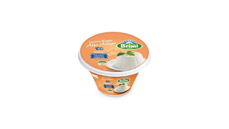 Gamma Ricotta di Brimi: classica, senza lattosio e bio, con latte 100% Alto Adige