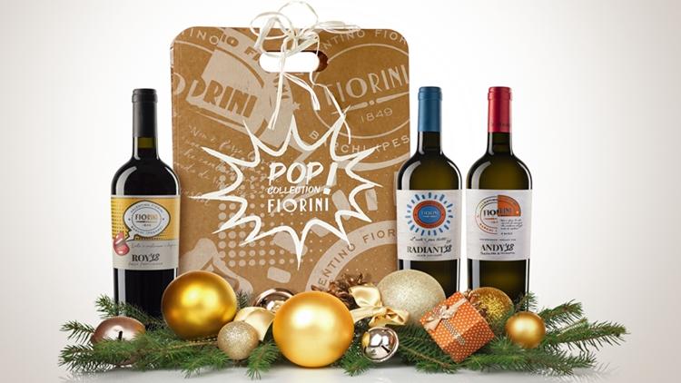 Natale Gourmet con la trilogia Pop Wine della Cantina Fiorini