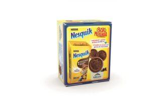 La famiglia Nesquik si allarga con Nesquik Box Merenda, per non rinunciare mai all'inconfondibile gusto del Brand anche fuori casa
