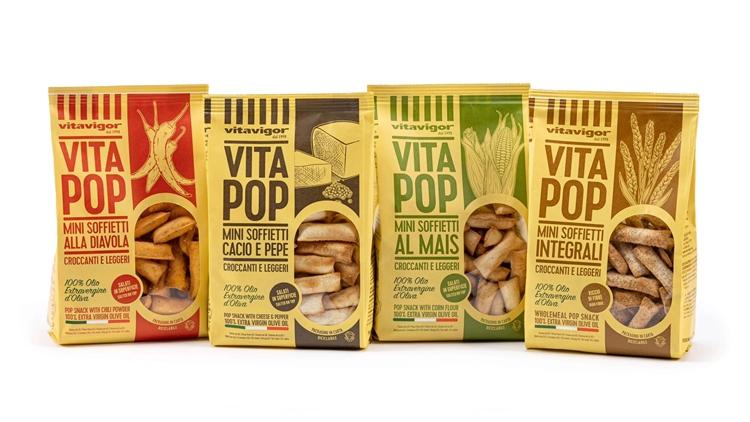 Ricette italiane gourmet e packaging in carta 100% riciclabile: Vitavigor lancia la nuova linea VitaPop gustosa e green