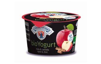 BioYogurt al gusto mela e cannella di Latteria Vipiteno