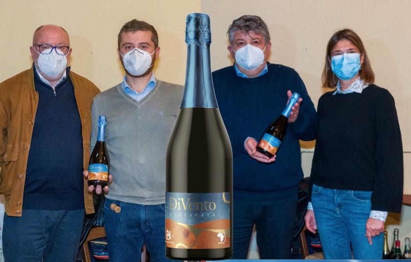 DiVento Rinascita Oltrepò Pavese brut doc – Pinot nero per un progetto di solidarietà