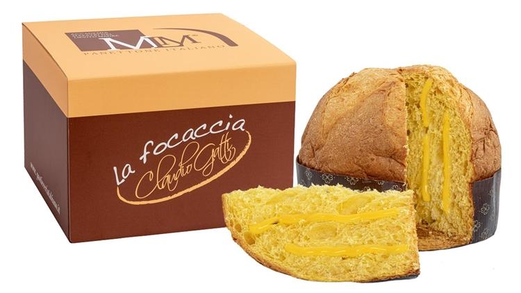 Novità da Pasticceria Tabiano: la focaccia con la crema al limoncello a basso contenuto di grassi