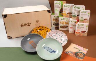 La collezione di piatti Felicia in collaborazione con Enza Fasano interpreta le eccellenze del territorio pugliese