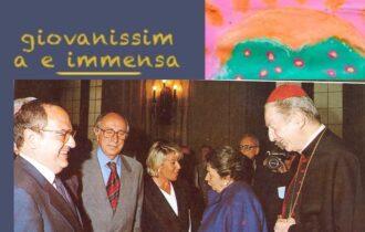 """Cardinale Carlo Maria Martini nel libro """"Giovanissima e immensa"""". ediz. Casagrande Lugano Milano. Interviste di Antonio Armano"""