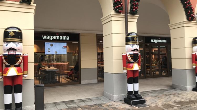 wagamama porta la cucina pan-asiatica nel Designer Outlet di Serravalle