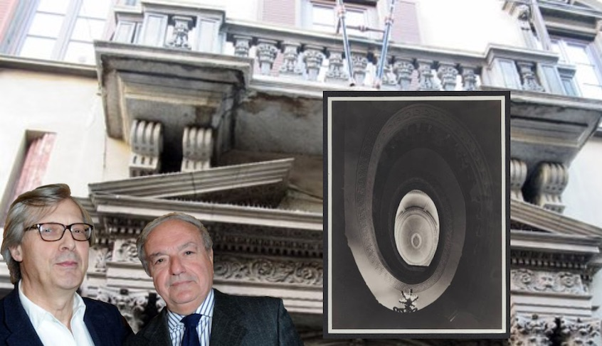 """Vittorio Sgarbi in """"Giovanissima e immensa""""- Libro di Achille Colombo Clerici"""