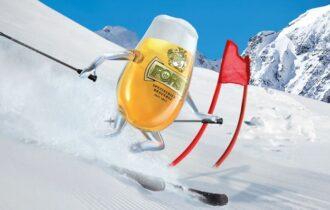 Birra FORST ai Mondiali di Sci di Cortina