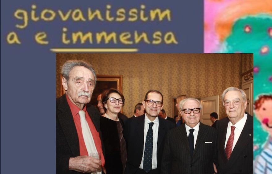"""Pasquale Spinelli in """"Giovanissima e immensa"""""""