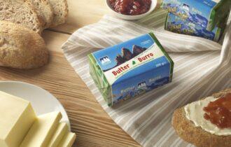 Latteria Tre Cime presenta il suo Burro Dobbiaco con il latte 100% dell'Alto Adige