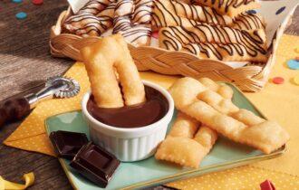 È Carnevale alla Scuola del cioccolata Perugina con le chiacchiere golose