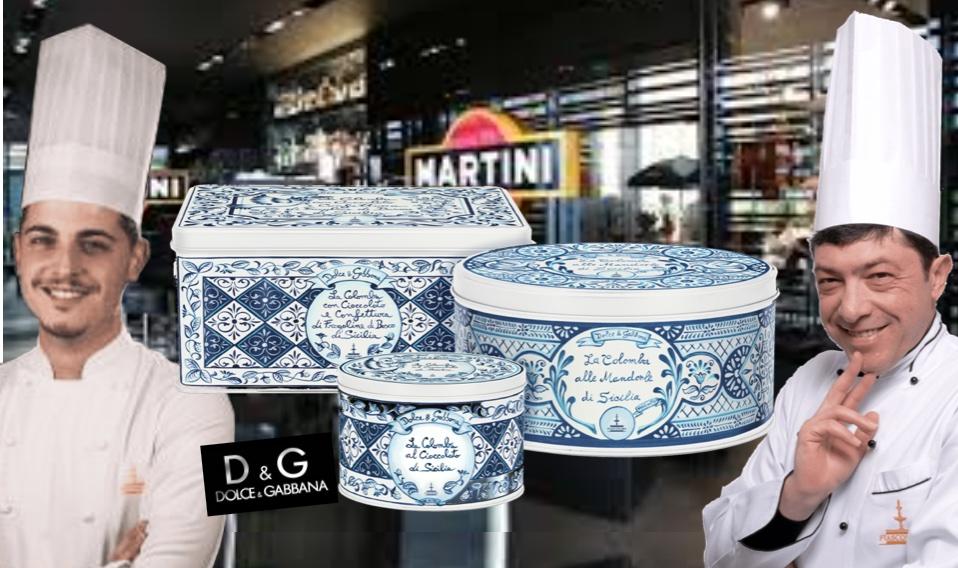 La Colomba Fiasconaro si veste in boutique da Dolce&Gabbana… la nuova moda della Pasqua a casa