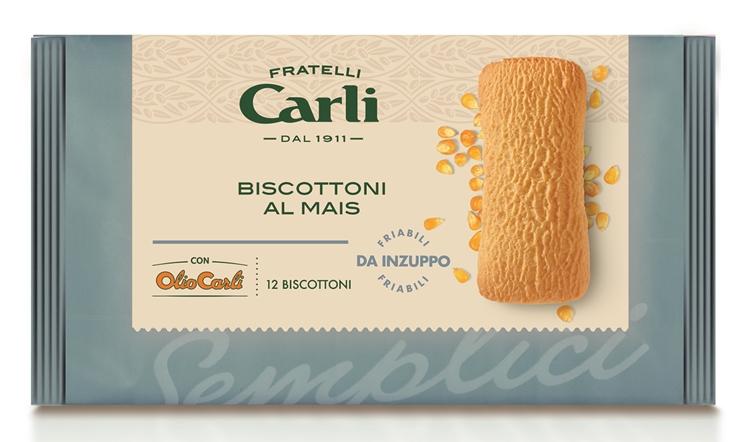 Nasce una nuova delizia firmata Fratelli Carli, arrivano i Biscottoni al Mais per colazioni e merende nutrienti, sane e buonissime