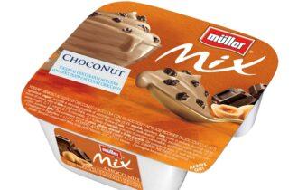 Novità 2021 Müller Mix ChocoNut, la nuova irresistibile variante ispirata al Mondo dei Gelati