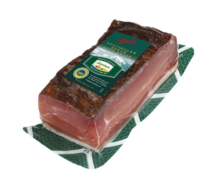 Recla Speck Alto Adige IGP, la versatilità del  formato trancio da 400 grammi