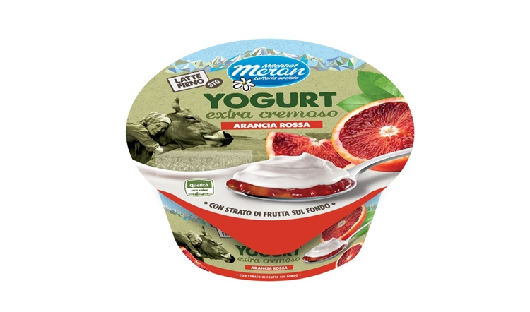 Yogurt intero extra cremoso Latte Fieno di Latteria Merano