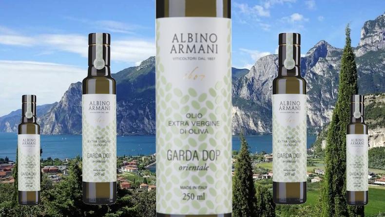 L'eleganza del Garda Dop, Albino Armani presenta il nuovo olio extravergine d'oliva